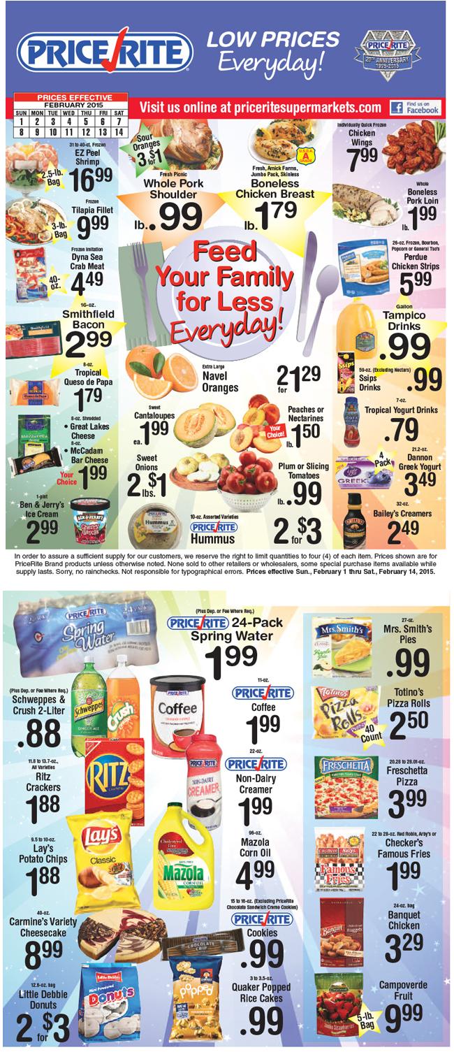Shaws Supermarket Circular